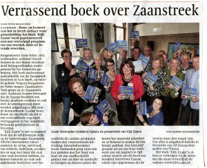 Noord-Hollands Dagblad/Dagblad Zaanstreek 15 oktober 2012