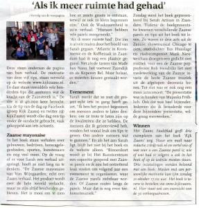 Stadsblad vervolg 17 oktober 2012