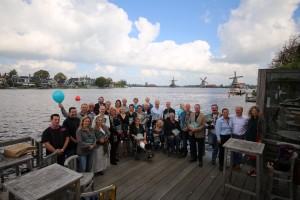 Aan het project Kijk Zaans/Zaanse Parels werkten tientallen mensen mee. Zie de foto